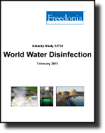 World Water Disinfection Products  - The Freedonia Group - Industry Market Research