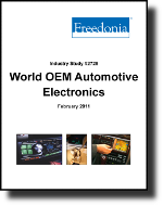 World OEM Automotive Electronics  - The Freedonia Group - Industry Market Research