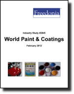 World Paint & Coatings  - The Freedonia Group - Industry Market Research