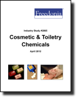 Cosmetic & Toiletry Chemicals  - The Freedonia Group - Industry Market Research