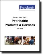 Pet Health: Products & Services - The Freedonia Group - Industry Market Research