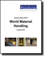 World Material Handling Products  - The Freedonia Group - Industry Market Research