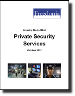 Private Security Services  - The Freedonia Group - Industry Market Research