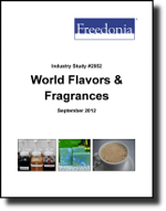 World Flavors & Fragrances  - The Freedonia Group - Industry Market Research