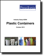 Plastic Containers  - The Freedonia Group - Industry Market Research