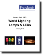 World Lighting: Lamps & LEDs - The Freedonia Group - Industry Market Research