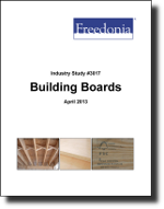 Building Boards  - The Freedonia Group - Industry Market Research