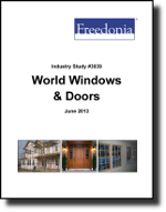 World Windows & Doors  - The Freedonia Group - Industry Market Research