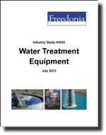 Water Treatment Equipment  - The Freedonia Group - Industry Market Research