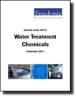 Water Treatment Chemicals - The Freedonia Group - Industry Market Research