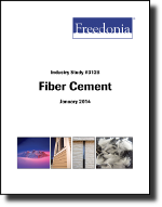 Fiber Cement  - The Freedonia Group - Industry Market Research