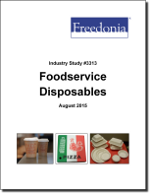 Foodservice Disposables - The Freedonia Group - Industry Market Research