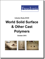 World Solid Surface & Other Cast Polymers - The Freedonia Group - Industry Market Research