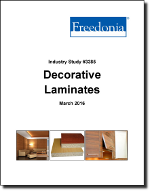 Decorative Laminates - The Freedonia Group - Industry Market Research