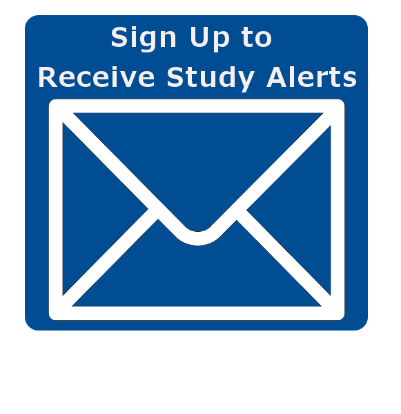 Sign up for our study announcements.