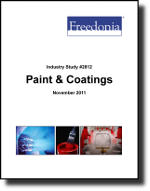 Paint & Coatings  - The Freedonia Group - Industry Market Research