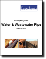 Water & Wastewater Pipe  - The Freedonia Group - Industry Market Research