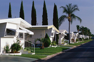 Prefabricated Houses On Street