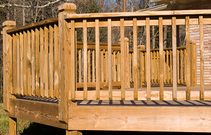 Wood Decking and Rails