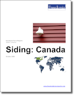 Siding: Canada - The Freedonia Group - Industry Market Research