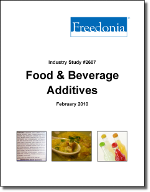 Food & Beverage Additives  - The Freedonia Group - Industry Market Research