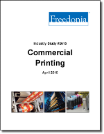 Commercial Printing  - The Freedonia Group - Industry Market Research