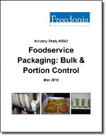 Foodservice Packaging: Bulk & Portion Control - Demand and Sales Forecasts, Market Share, Market Size, Market Leaders