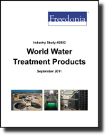 World Water Treatment Products  - The Freedonia Group - Industry Market Research