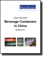 Beverage Containers in China - Demand and Sales Forecasts, Market Share, Market Size, Market Leaders