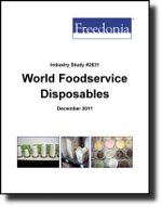 World Foodservice Disposables  - The Freedonia Group - Industry Market Research