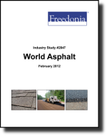 World Asphalt  - The Freedonia Group - Industry Market Research