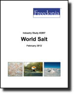 World Salt  - The Freedonia Group - Industry Market Research