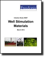 Well Stimulation Materials  - The Freedonia Group - Industry Market Research