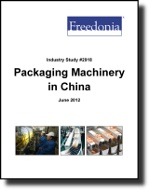 Packaging Machinery in China  - The Freedonia Group - Industry Market Research
