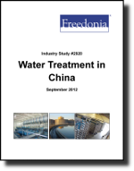 Water Treatment in China  - The Freedonia Group - Industry Market Research
