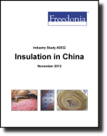 Insulation in China  - The Freedonia Group - Industry Market Research