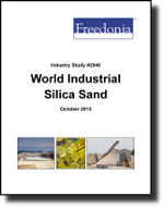 World Industrial Silica Sand  - The Freedonia Group - Industry Market Research