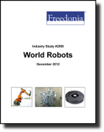 World Robots - Demand and Sales Forecasts, Market Share, Market Size, Market Leaders