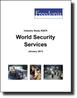 World Security Services  - The Freedonia Group - Industry Market Research