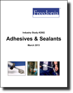 Adhesives & Sealants  - The Freedonia Group - Industry Market Research