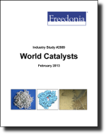 World Catalysts  - The Freedonia Group - Industry Market Research