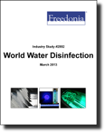 World Water Disinfection Products - Demand and Sales Forecasts, Market Share, Market Size, Market Leaders
