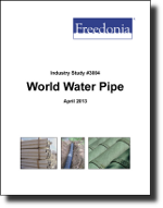 World Water Pipe - Demand and Sales Forecasts, Market Share, Market Size, Market Leaders