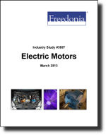 Electric Motors  - The Freedonia Group - Industry Market Research