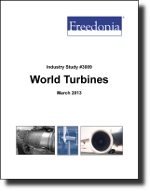 World Turbines  - The Freedonia Group - Industry Market Research