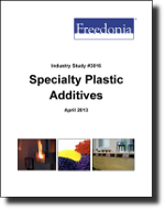 Specialty Plastic Additives  - The Freedonia Group - Industry Market Research