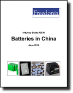 Batteries in China  - The Freedonia Group - Industry Market Research