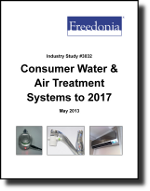 Consumer Water & Air Treatment Systems  - The Freedonia Group - Industry Market Research