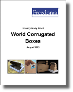 World Corrugated Boxes  - The Freedonia Group - Industry Market Research