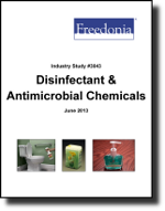Disinfectant & Antimicrobial Chemicals  - The Freedonia Group - Industry Market Research